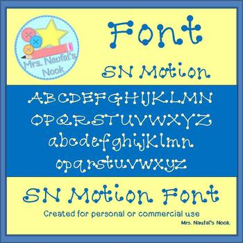 Font SN Motion