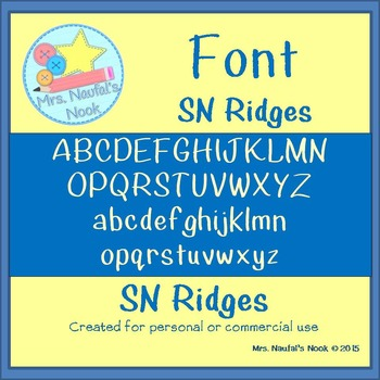Font SN Ridges