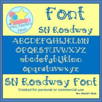 Font SN Roadway