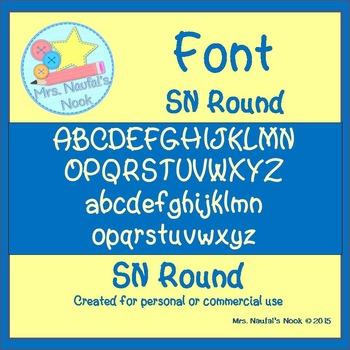 Font SN Round