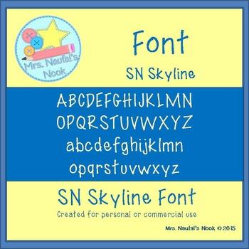 Font SN Skyline