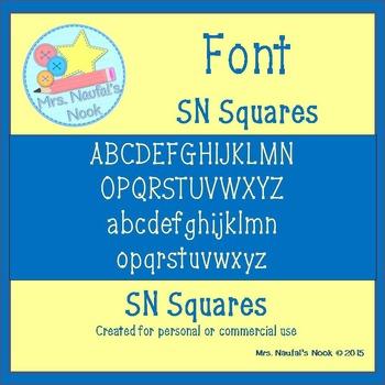 Font SN Squares