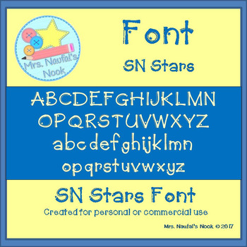 Font SN Stars