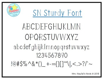 Font Commercial Use SN Sturdy