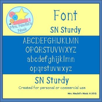 Font SN Sturdy