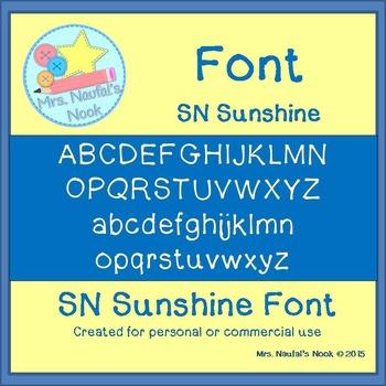 Font SN Sunshine