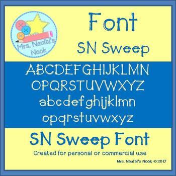 Font SN Sweep