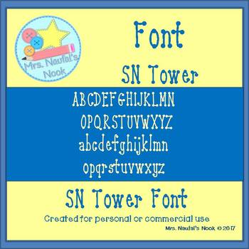 Font SN Tower