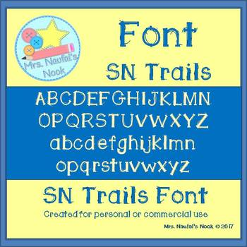 Font SN Trails