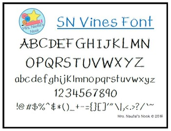 Font SN Vines