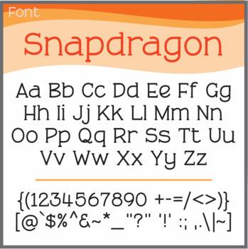 Font: Snapdragon (True Type Font)