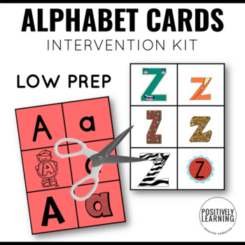 Font Sort Visual Cards Bundle
