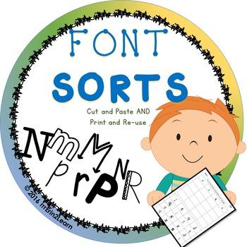 Font Sorts Letter Sorts