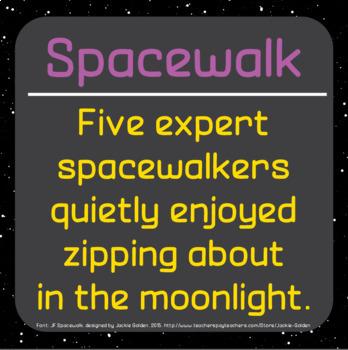 Font: Spacewalk (True Type Font)