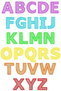 Font: Striped (True Type Font)