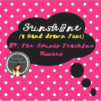 Font Sunshine TTF Font
