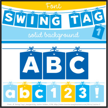 Font: Swing Tag 1 (True Type Font)