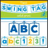 Font: Swing Tag 2 (True Type Font)