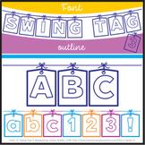 Font: Swing Tag 3 (True Type Font)