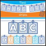 Font: Swing Tag 4 (True Type Font)