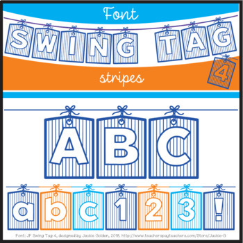 Font: Swing Tag 4 (True Type Font)