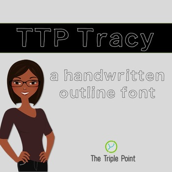 TTP Tracy - font for personal and commercial use