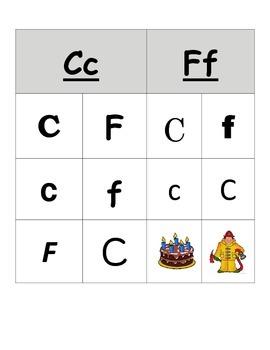 Font Word Study Sorts