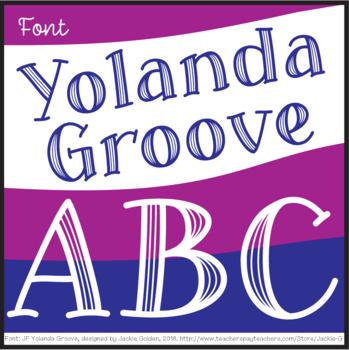 Font: Yolanda Groove (True Type Font)