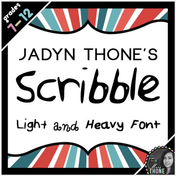 Font - Scribble - Personal Use