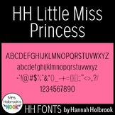 Font for Commercial or Personal Use - HH Little Miss Princess