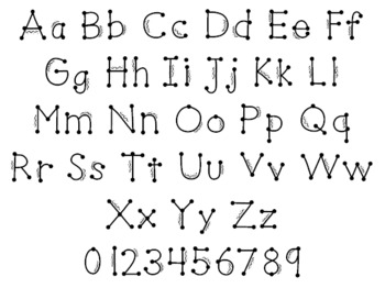 Font for Commercial or Personal Use~ Party Time!