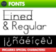 Font for Learning Letters • Make worksheets for young learners!