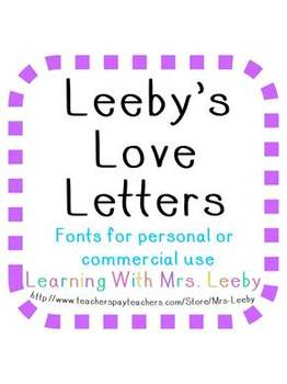 Font for personal and commercial use - Leeby's Summer Love