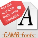 Font saves overtime life, multi-functional program meets English education. CAMB