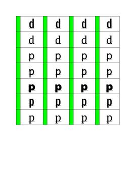 Font sort for reversals