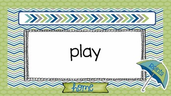Fountas and Pinnel 50 High Frequency Word part 2