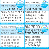 Free Fonts Pack #2