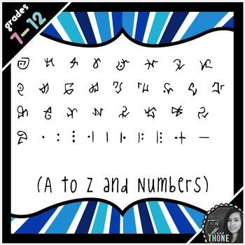 Fonts - Runes of Atlantis - Personal Use