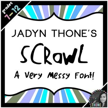 Font - Scrawl - Personal Use