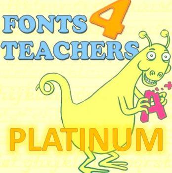 Fonts 4 Teachers PLATINUM