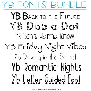 Fonts Fonts and more Fonts Bundle YB Yara Boustani 129 in Total