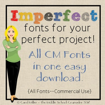 Fonts Bundle -- Commercial Use