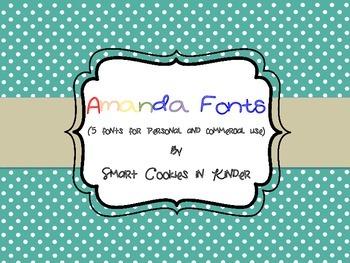 Fonts By Amanda