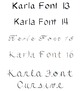 Fonts By One Room Schoolhouse