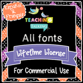 Fonts - CU license