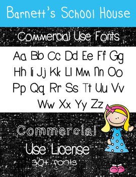 Fonts: CU License for Fonts {Lifetime}