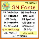 Fonts Volume 5