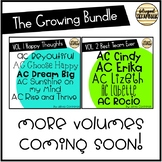 Fonts Growing Bundle