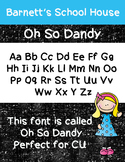 Fonts: Oh So Dandy Commercial Use Lifetime