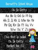 Fonts: Oh So Dotty Commercial Use Lifetime